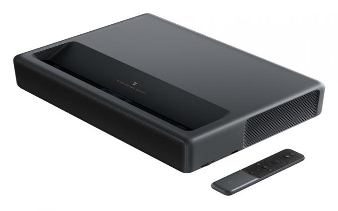 小米推出米家激光投影电视1S 4K版:可投150寸 亮度提升30%