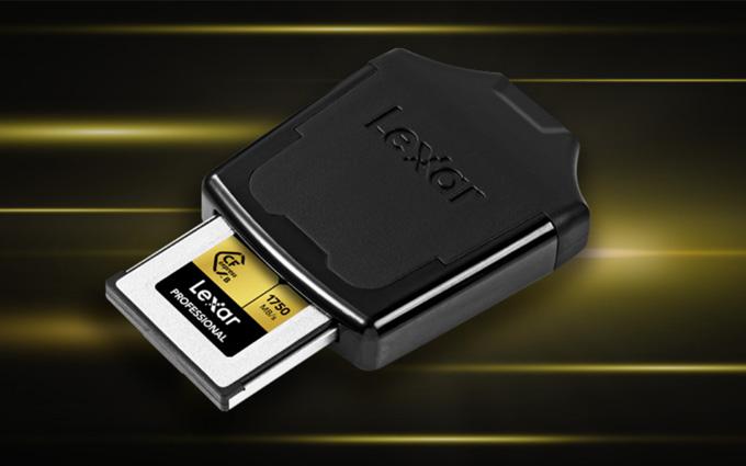 雷克沙推出CFexpress读卡器 读写速度达1050MB/s