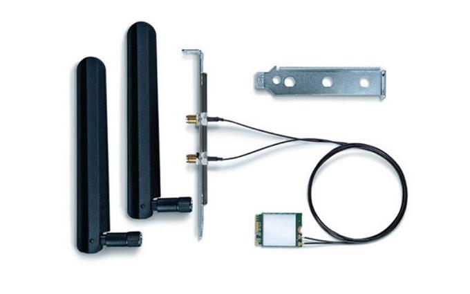 英特尔发布AX200 Wifi-6无线网卡套装:集成蓝牙5.0 售价199元