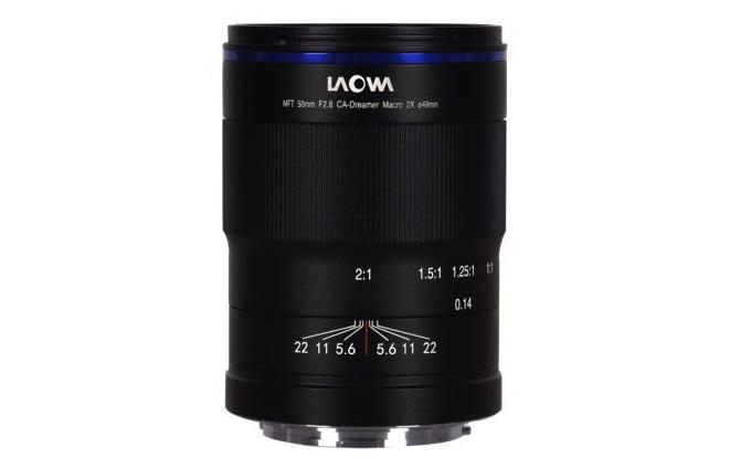 老娃发布新微距镜头50mm F2.8 两倍放大率 准复消色差设计