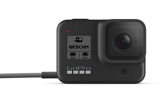 GoPro Hero8 Black加入USB摄像头功能 目前只支持Mac