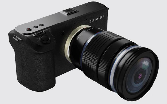 夏普便携8K摄像机下半年率先在日本上市 价格不超3700美元
