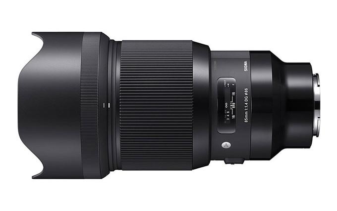 传言适马8月发布85mm F1.4 DG DN   Art镜头 针对无反设计