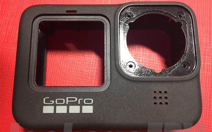 GoPro Hero 9外壳曝光 机身大小不变