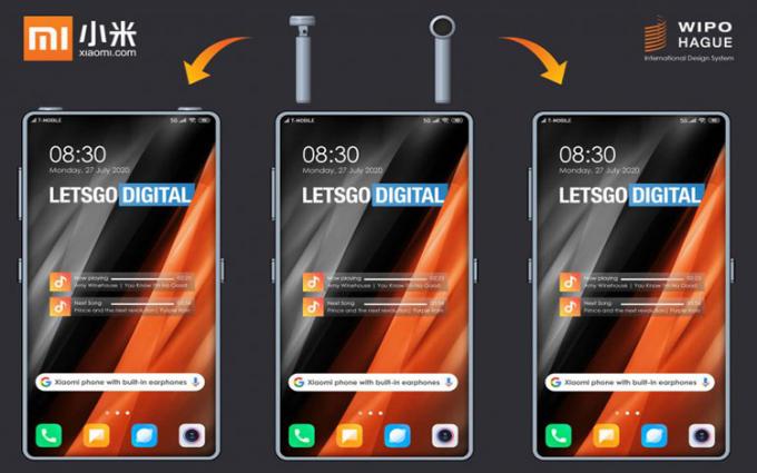 小米新技术专利曝光 手机内可收纳真无线蓝牙耳机