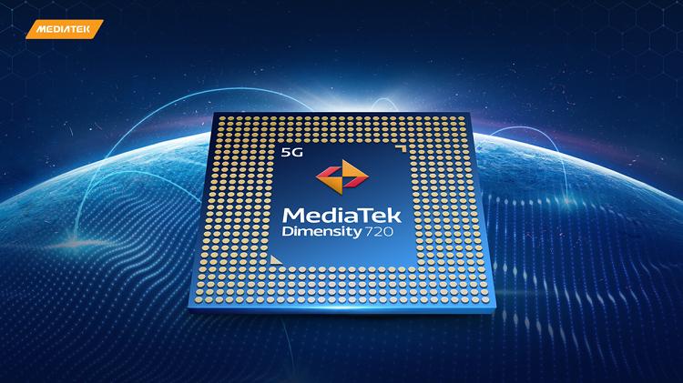 联发科发布天玑720处理器,CPU采用2+6核心设计