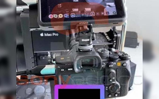 索尼A7S3谍照曝光 外接Atomos记录仪
