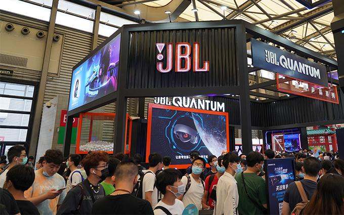 ChinaJoy 2020   哈曼旗下JBL展出黑科技QUANTUM游戏产品