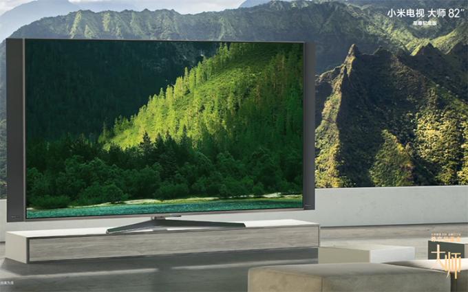 小米电视大师82英寸至尊纪念版正式发布:8K分辨率 售价49999元