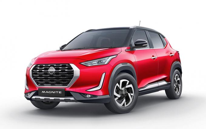 日产小型SUV Magnite官图曝光:基于CMF-A平台打造 有望明年上市