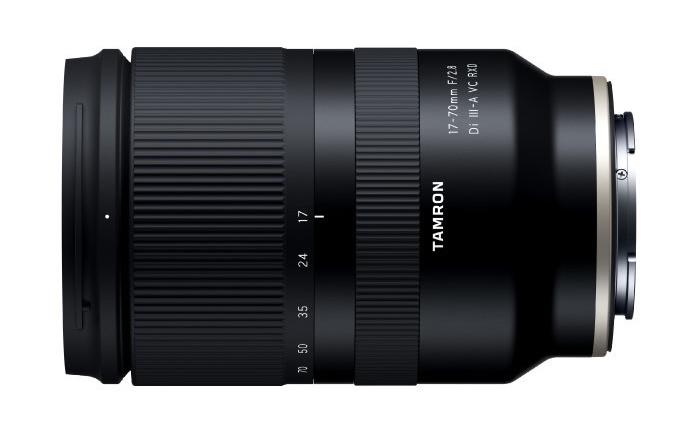 腾龙17-70mm f/2.8镜头规格曝光 大光圈、防抖、轻便全都有