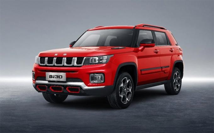 北京越野BJ30开启预售:共推3款车型 预售10.60-12.60万元
