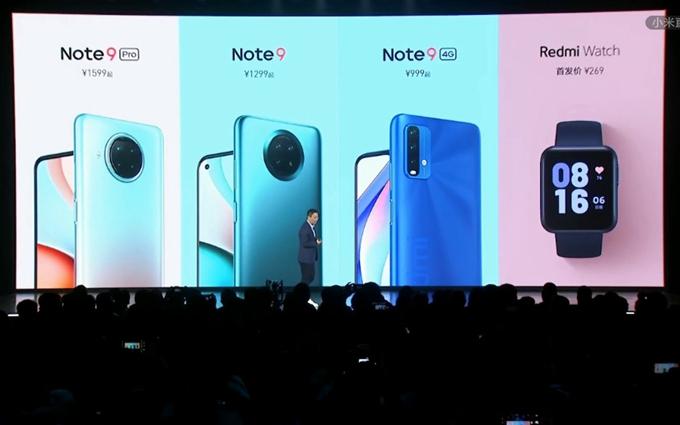 年轻气盛不讲武德,千元档Redmi Note9系列三款手机正式发布