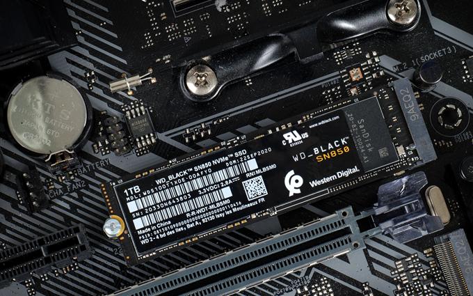 真正的PCIe 4.0之王:WD_BLACK SN850 NVMe SSD评测
