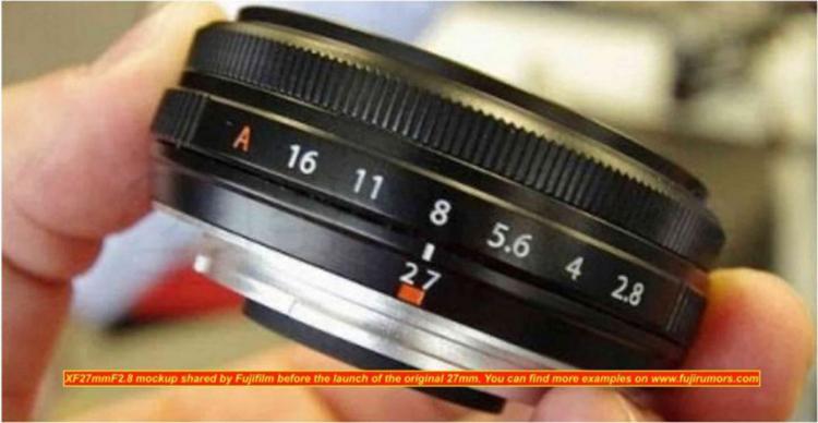 富士XF27mm F2.8二代饼干镜头明年发布 X-E4相机也将一同亮相