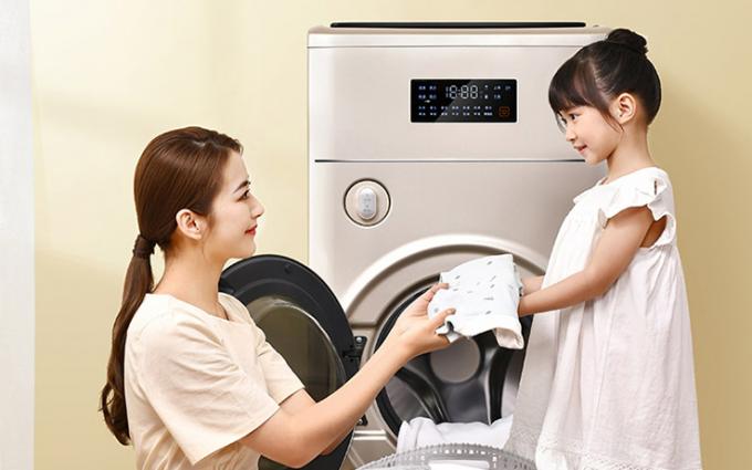 祝TCL P10复式分类洗衣机在热点科技五星奖颁奖盛典中荣获:年度创新设计奖