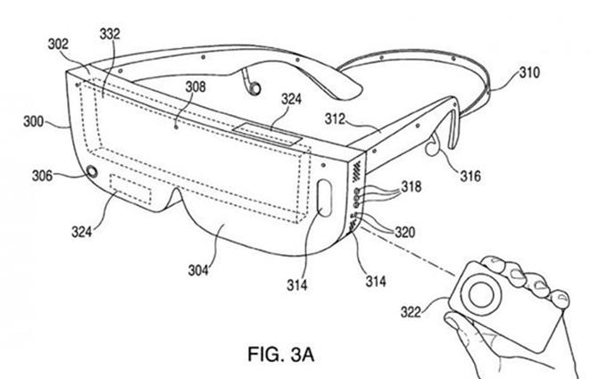 苹果眼镜新专利设计图曝光,以iPhone手机为显示屏的头显设备