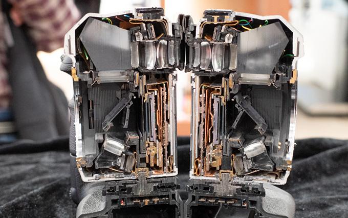 宾得亮出透明版K-3 Mark III 展示内部构造