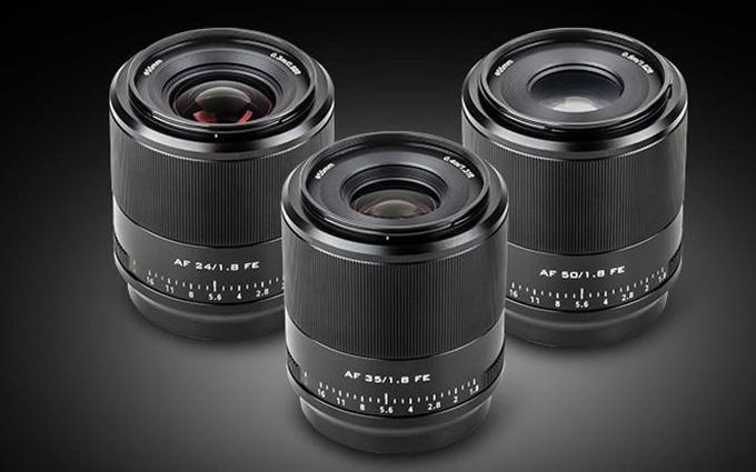 唯卓仕25日发布E卡口全幅镜头 覆盖24、35、50焦距