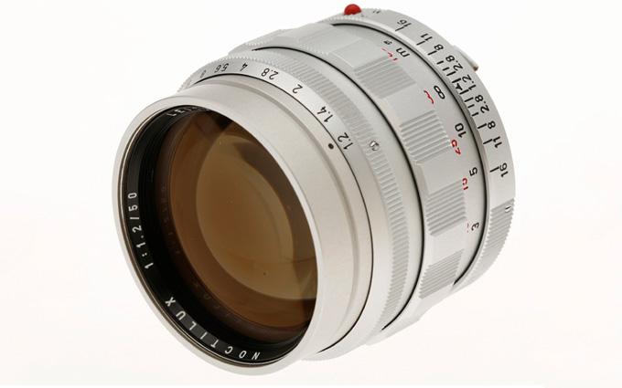 徕卡下月发售Noctilux M 50mm f/1.2限量版镜头 价格超50 0.95