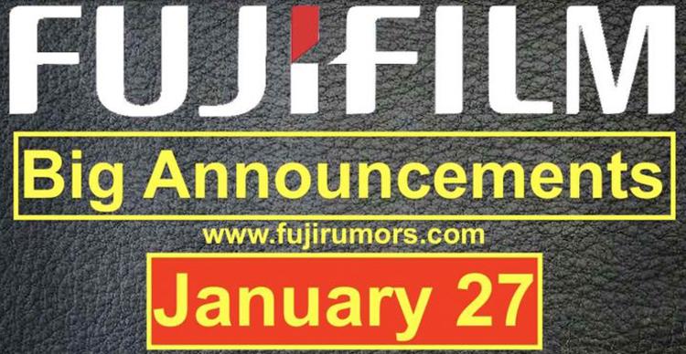 富士将在1月27日举办发布会 除新机外还有多支镜头