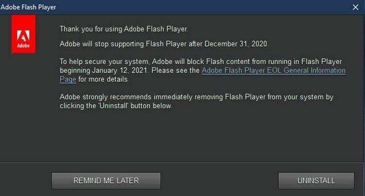 Flash时代落幕引发后续震荡 详解其被关停后的相关影响
