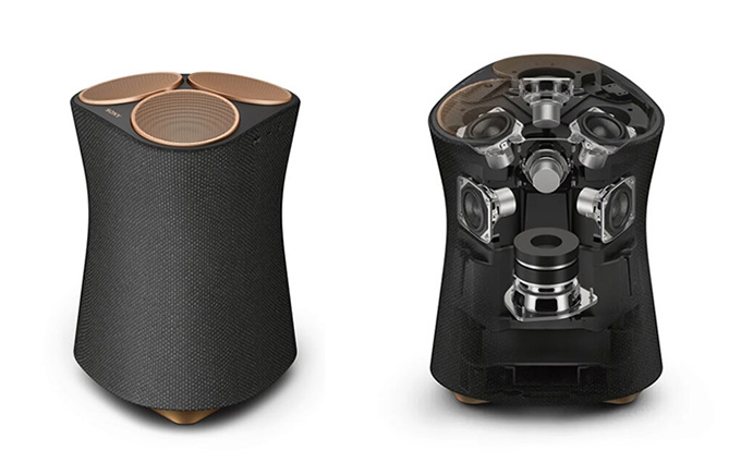 索尼推出360临场音效音箱:SRS-RA5000和SRS-RA3000
