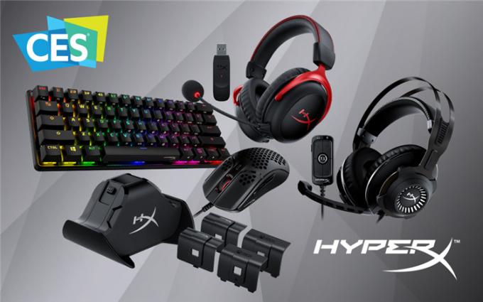 HyperX携多款重磅新品亮相CES 2021