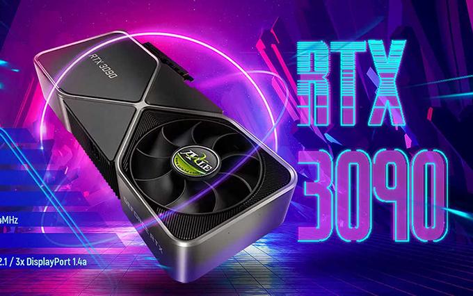 英伟达公版设计RTX 30显卡上架AIC厂家宣传页