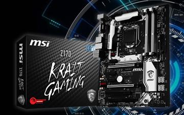 炫酷游戏板 微星Z170 KRAIT GAMING主板评测