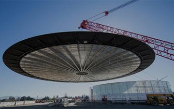 高大上的苹果总部最新实拍