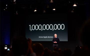 iPhone全球激活设备超10亿台 舍我其谁?