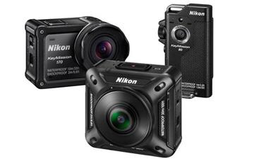 尼康推出三款便携式运动相机 叫板GoPro!