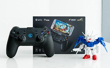 PC手游与主机手柄中的战斗机 小鸡T1增强版游戏手柄测评