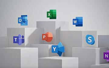 微软Office 365图标大更新 UI重新设计