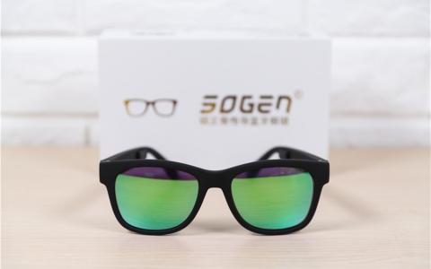 用眼镜听音乐是一种什么样的感受? 硕正骨传导蓝牙眼镜GL01评测