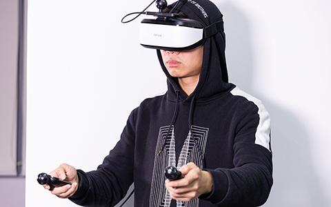 快乐游戏燃烧卡路里 大朋E3C VR眼镜上手体验