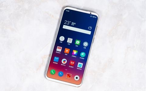 魅族16s真机图赏:这或许是最好看的非异型全面屏手机