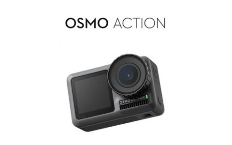 Gopro的劲敌来了 大疆正式发布双彩屏运动相机Osmo Action