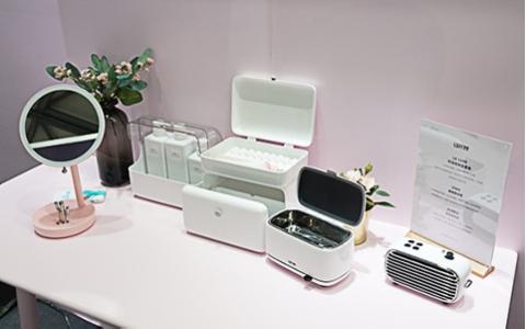 "CES Asia 2019 | 从办公桌面到女生卧室 Lofree想用三款新品""占领""化妆桌"