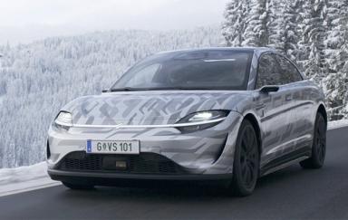 索尼VISION-S原型车完成开发 已在欧洲开启道路测试