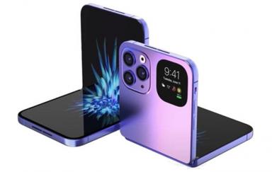 iPhone折叠屏手机传来新消息,已委托LG开发可折叠显示屏